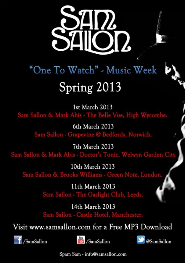 MARCH TOUR