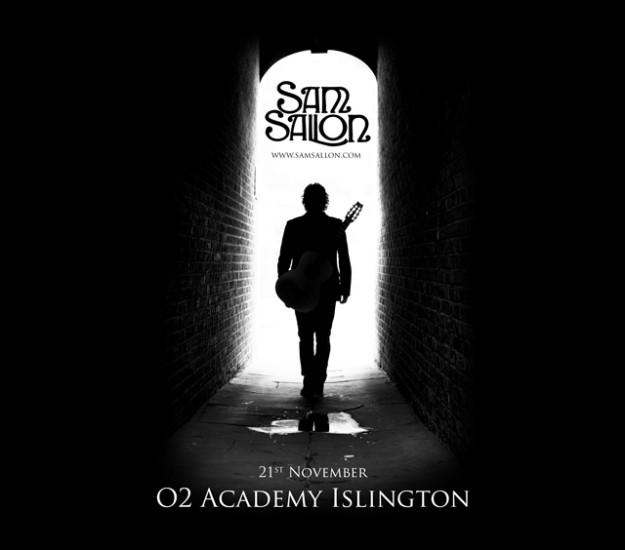 Sam_Sallon_O2_Islington_poster